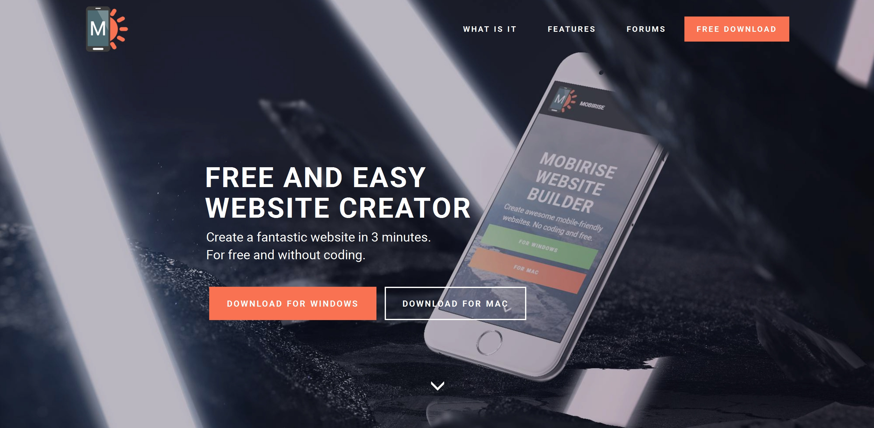 Mobile Easy Website Creator