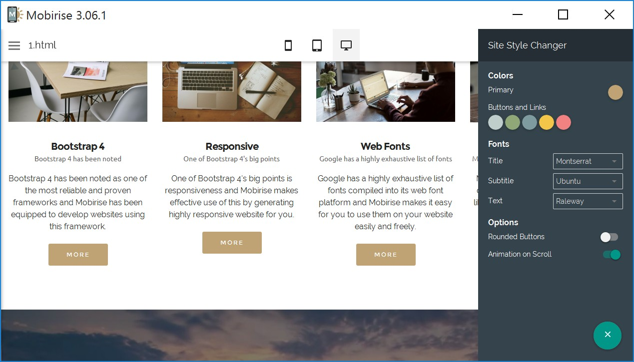 Simple Responsive Web Builder Review