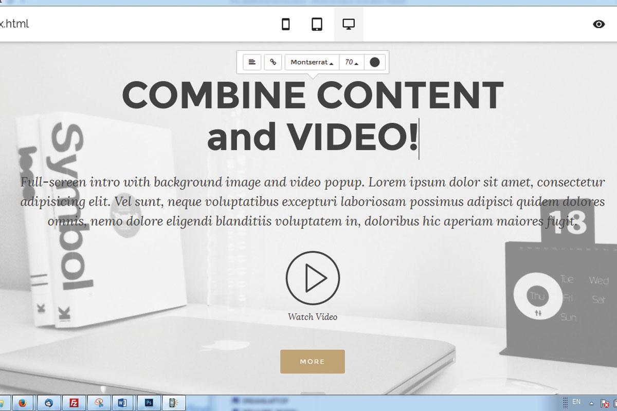 Mobile Responsive Web Builder Software