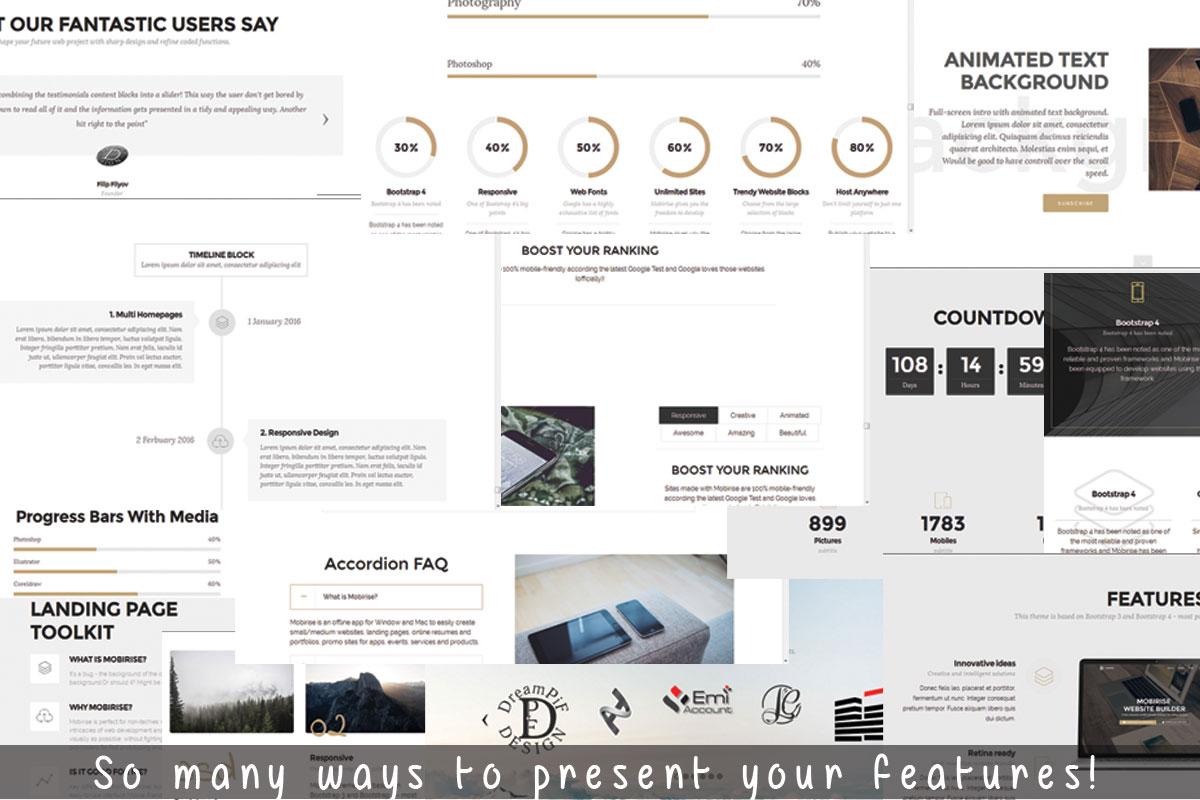 Simple Responsive Website Maker