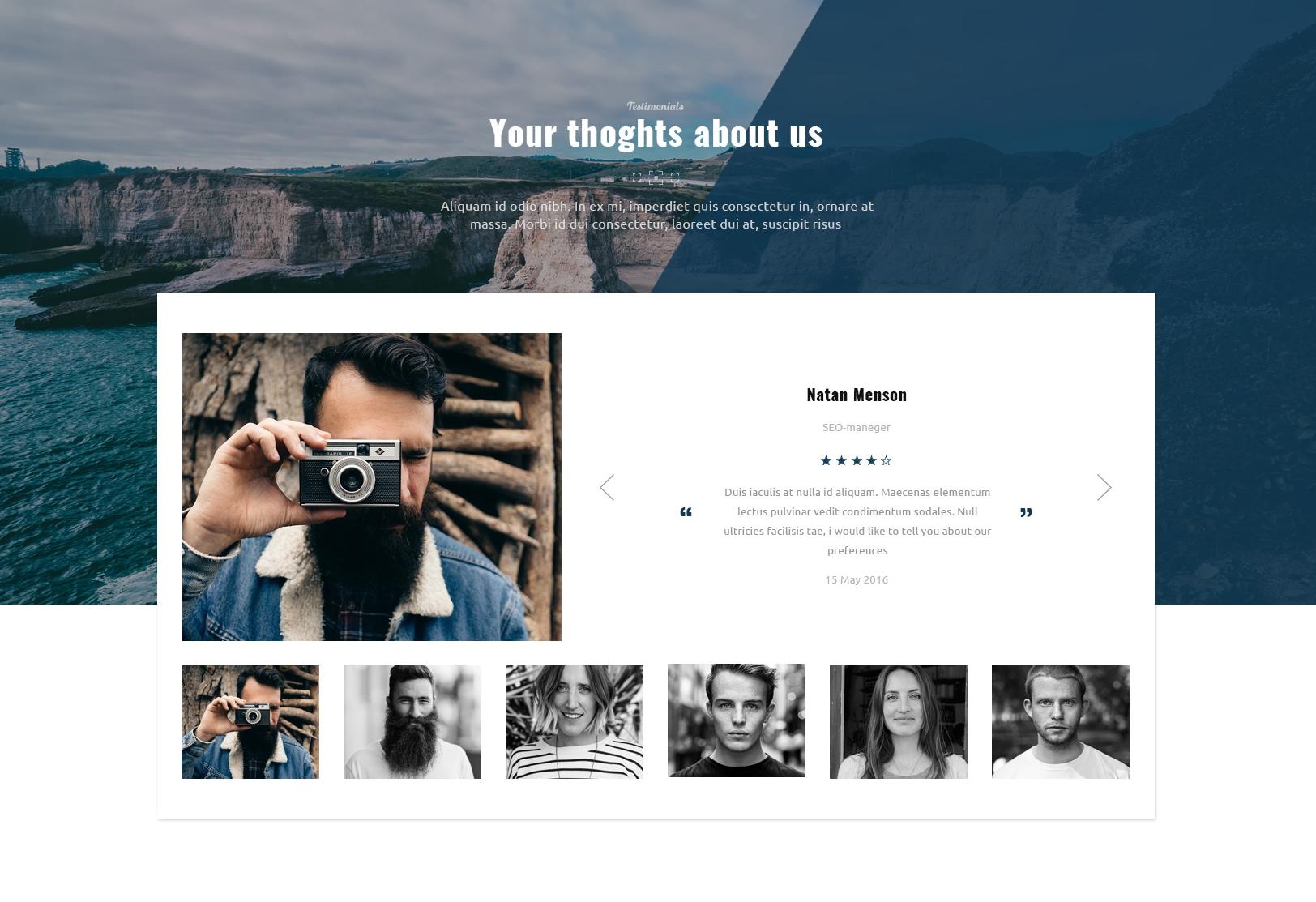 Mobile Bootstrap Basic Theme