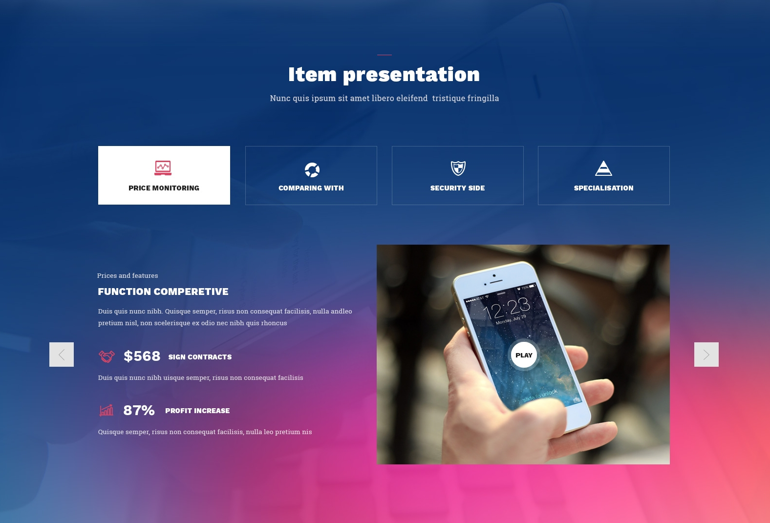 HTML5 Bootstrap Real Estate Theme