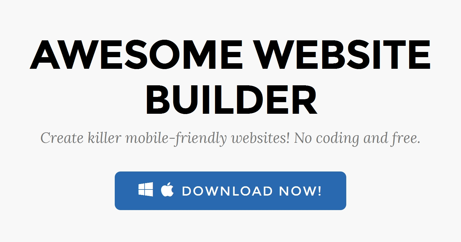 HTML5 Website Design Software