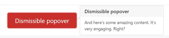 Dismiss  upon  following  mouse click