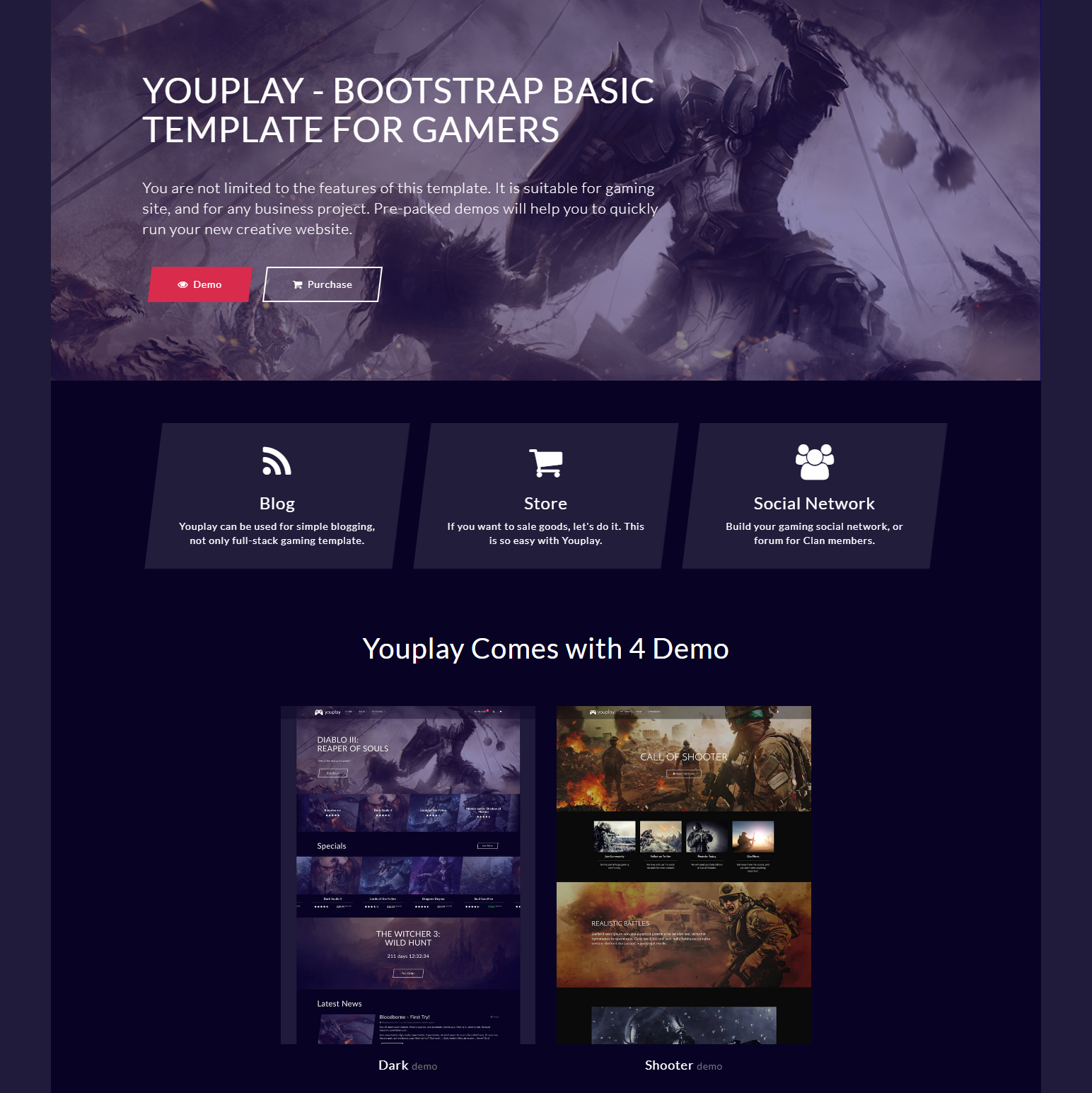 HTML Bootstrap Basic Templates