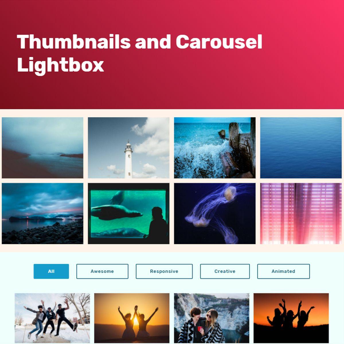HTML5 Bootstrap Image Slideshow