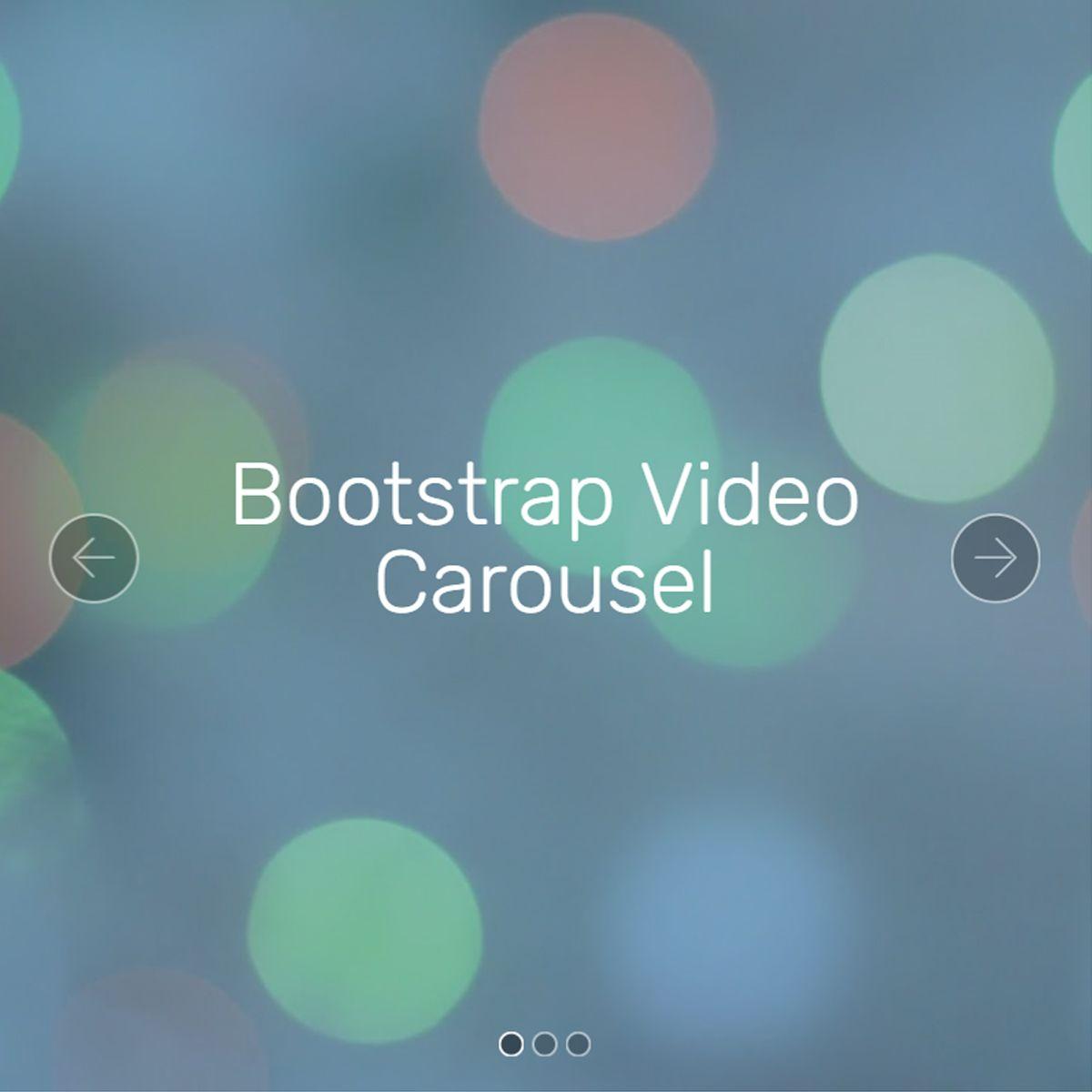 jQuery Bootstrap Photo Slideshow
