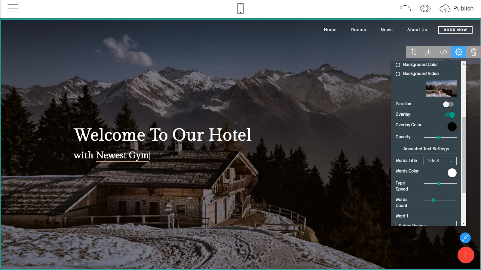 mobile website themes