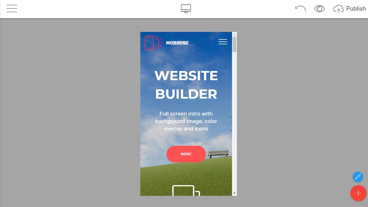 Mobile-Friendly Site Builder